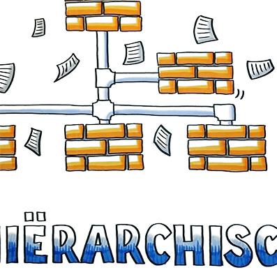 Clubben Hiërarchisch of Afdelingsloos
